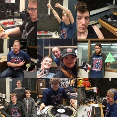 Vinylthon Collage